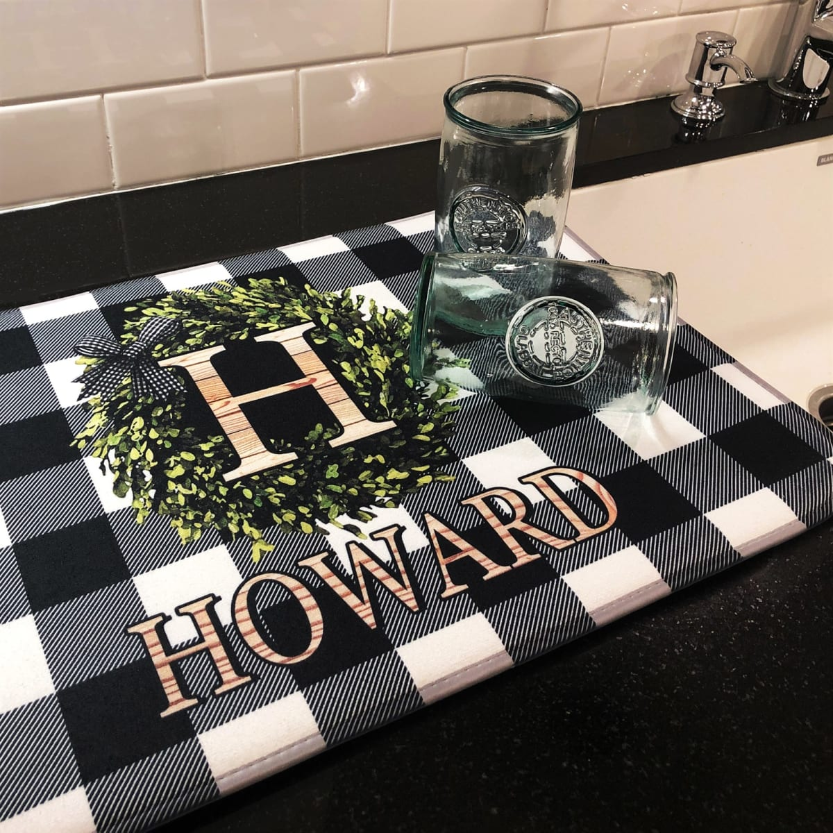 Personalized Dish Mats
